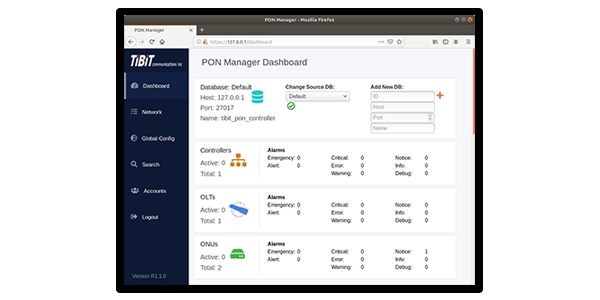PON Domain Manager